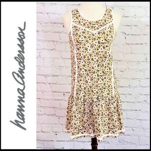 HANNA ANDERSSON Girls' Cotton Poppy Sun Dress, 12